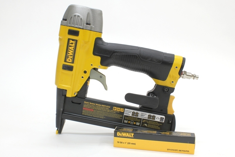 Tool Review: DeWalt Heavy Duty 18 Gauge 1/4″ Crown Stapler (Model# DWFP12232)