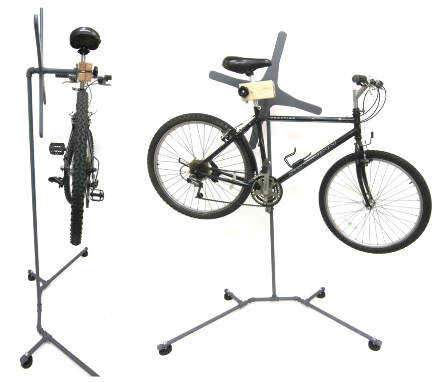 DIY Bike Repair Stand | GordGraff.com